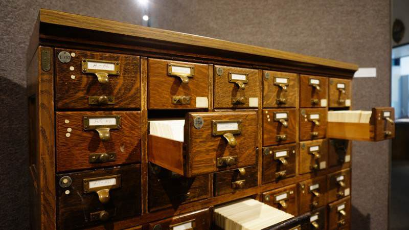 Sutter County Library Card Catalog