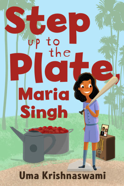 Step up to the Plate, Maria Singh Book Cover
