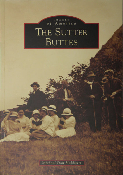 The Sutter Buttes Book Cover